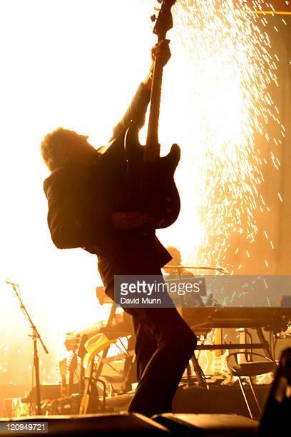 Roger Waters during Roger Waters in Concert at the Globen Arena in Stockholm April 27 2007 at Globen Arena in Stockholm Sweden