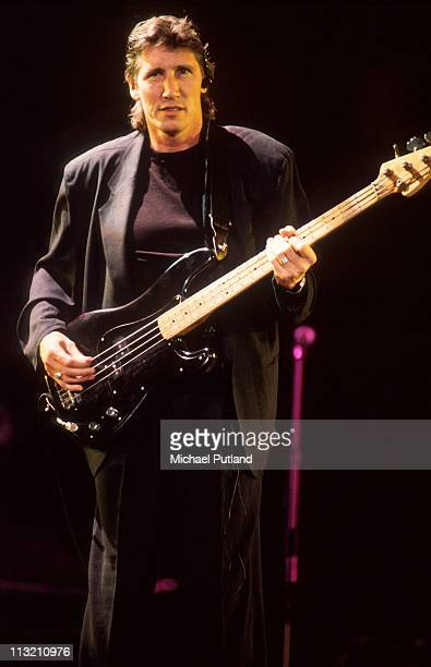 Roger Waters formerly of Pink Floyd performs on stage at the Wall concert Berlin Germany 21st July 1990