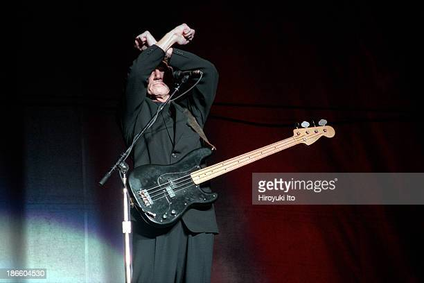 Roger Waters from Pink Floyd performing at Jones Beach Theater on Saturday night August 7 1999The concert is titled 'In The Flesh'