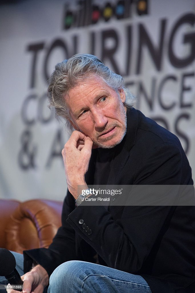 Roger Waters participates in the Keynote Q&A at the 10th Anniversary Billboard Touring Conference & Awards at the Roosevelt Hotel on November 13, 2013 in New York City.
