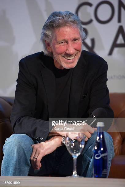 Roger Waters participates in the Keynote QA at the 10th Anniversary Billboard Touring Conference Awards at the Roosevelt Hotel on November 13 2013 in...