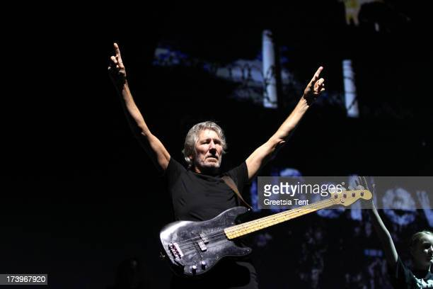 Roger Waters performs at GelreDome on July 18 2013 in Arnhem Netherlands