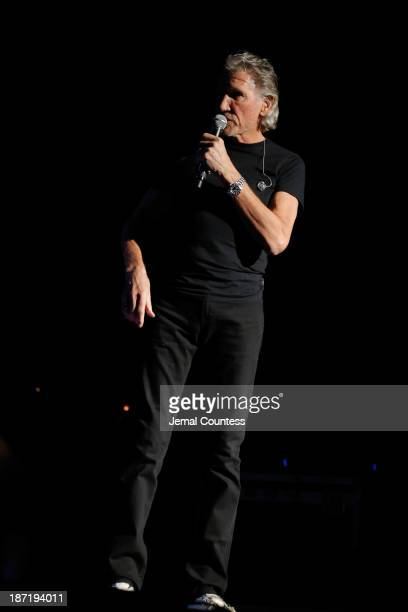 Roger Waters performs at the 7th annual 'Stand Up For Heroes' event at Madison Square Garden on November 6 2013 in New York City