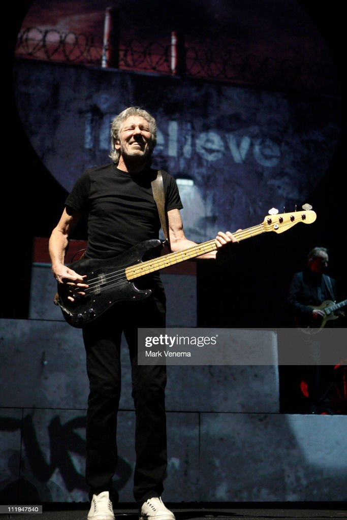 Roger Waters performs The Wall Live at Gelredome on April 9 2011 in Arnhem Netherlands