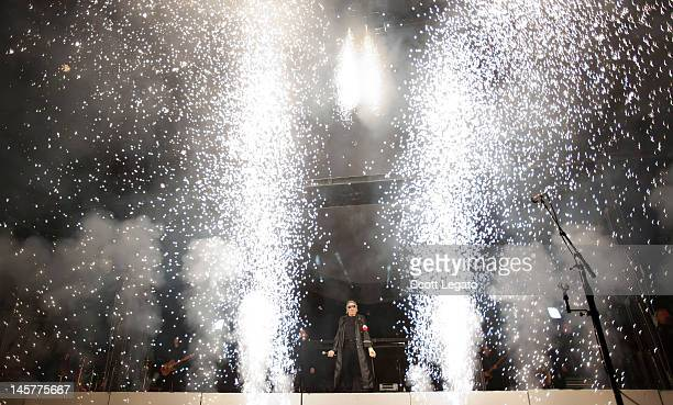 Roger Waters performs 'The Wall LIVE' at Joe Louis Arena on June 5 2012 in Detroit Michigan