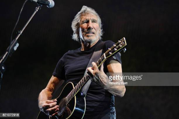 Roger Waters permors at the United Center on July 22 2017 in Chicago Illinois