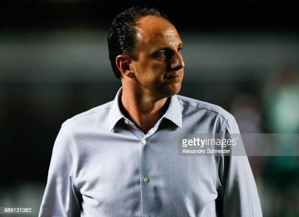 Rogerio Ceni head coach of Sao Paulo in action during the match between Sao Paulo and Palmeiras for the Brasileirao Series A 2017 at Morumbi stadium...