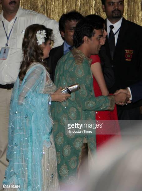 Rohan Gavaskar at the wedding of Aishwarya and Abhishek Bachchan