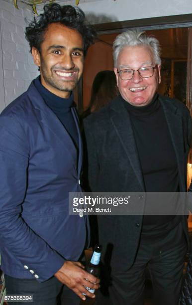 Rohan Silva and Robert Hewison attend the launch of Second Home Holland Park on November 16 2017 in London England