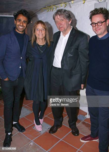 Rohan Silva Lady Ruth Rogers Deyan Sudjic and Sam Aldenton attend the launch of Second Home Holland Park on November 16 2017 in London England