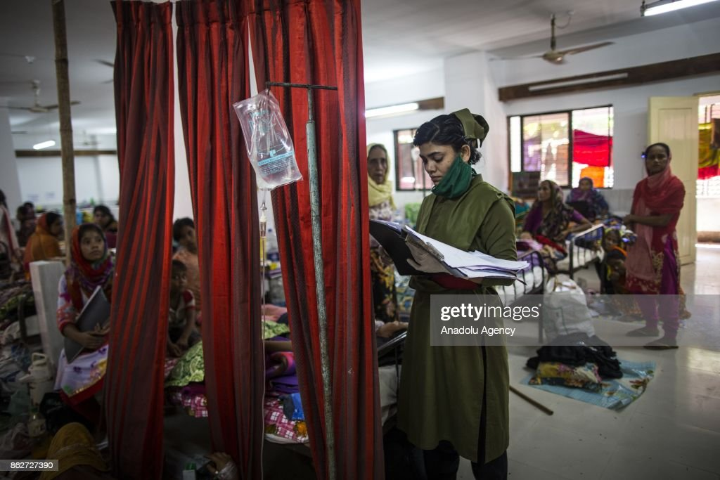 Inside Sadar Hospital In Cox's Bazar