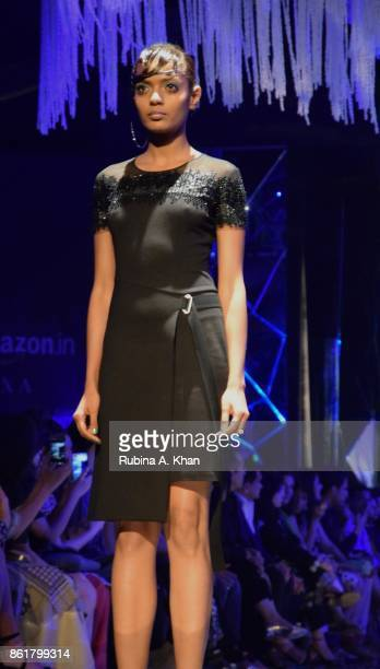 Rohit Gandhi Rahul Khanna's See Now Buy Now pret collection at the grand finale of the Fashion Design Council of India's 30th edition of India...