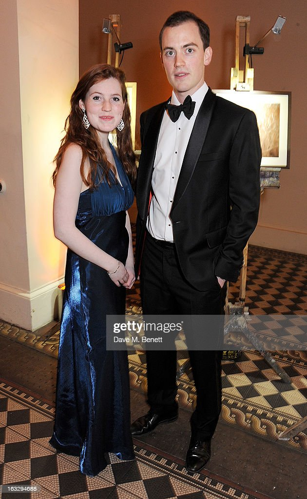 Roisin Blake (L) and Victor Lamarque attend The Jasmine Ball in aid of UNICEF's Children of Syria Emergency Appeal at One Mayfair on March 7, 2013 in London, England.