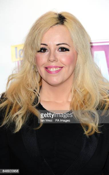 Roisin Conaty arrives at the Loaded LAFTA awards held at the Cuckoo Club in London