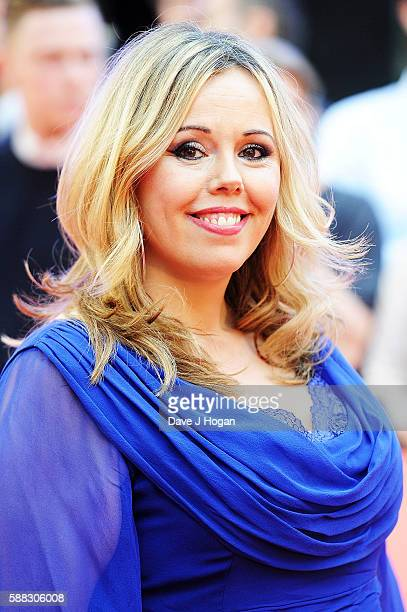 Roisin Conaty arrives for the World premiere of 'David Brent Life on the Road' at Odeon Leicester Square on August 10 2016 in London England