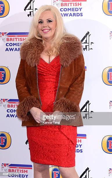 Roisin Conaty attends the British Comedy Awards at Fountain Studios on December 12 2013 in London England