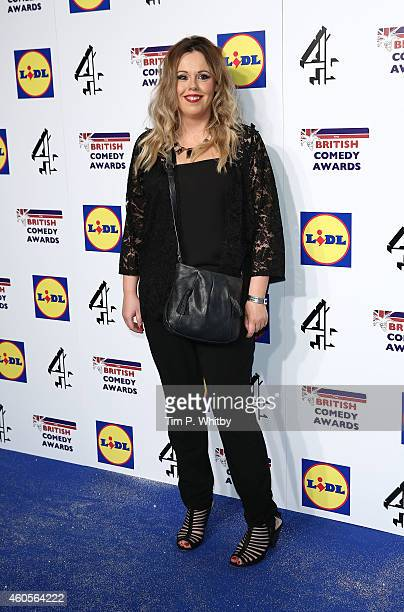 Roisin Conaty attends The British Comedy Awards at Fountain Studios on December 16 2014 in London England