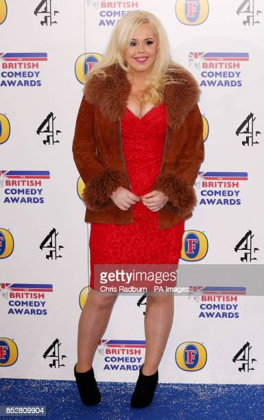 Roisin Conaty attends the British Comedy Awards at Fountain Studios in Wembley north London