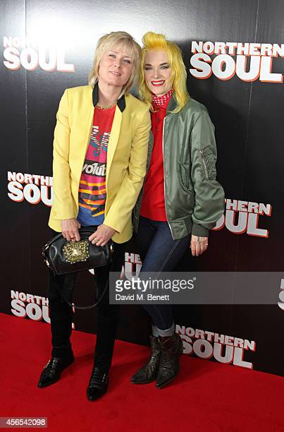 Roisin Murphy and Pam Hogg attend a Gala Screening of 'Northern Soul' at the Curzon Soho on October 2 2014 in London England