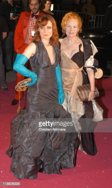 Roisin Murphy and Vivienne Westwood during Swarovski Fashion Rocks for the Prince's Trust Red Carpet Arrivals at Forum Grimaldi in Monte Carlo Monaco