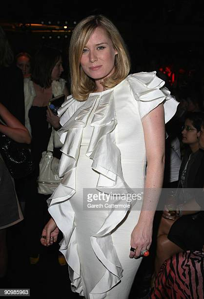 Roisin Murphy attends the Vivienne Westwood Red Label Fashion Show on September 20 2009 in London England