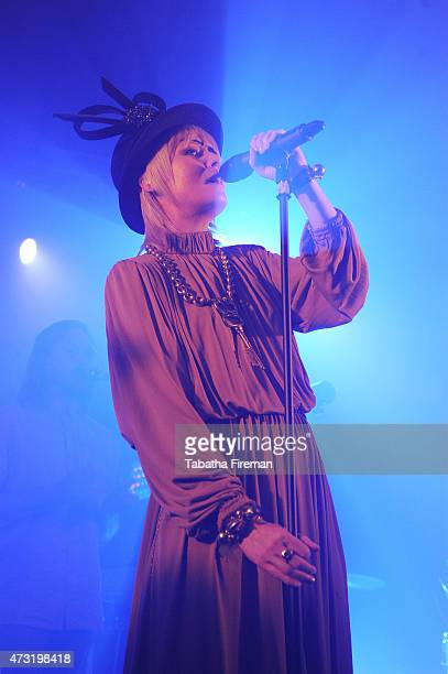 Roisin Murphy performs on stage at The Concorde2 on May 13 2015 in Brighton United Kingdom