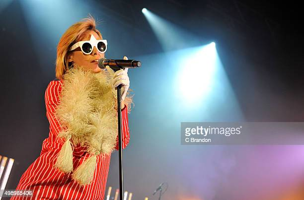 Roisin Murphy performs on stage at the Eventim Apollo on November 27 2015 in London England