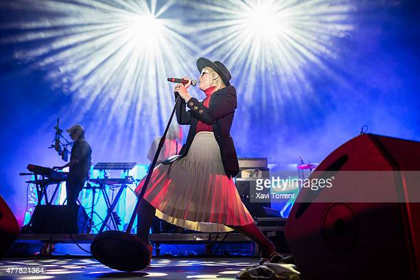 Roisin Murphy performs on stage during day 2 of Sonar Music Festival on June 19 2015 in Barcelona Spain