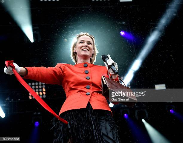 Roisin Murphy performs on the main stage at OnBlackheath at Blackheath Common on September 10 2016 in London England