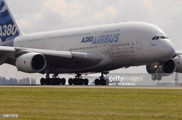 airbus a380 north stock photos and pictures getty images. Black Bedroom Furniture Sets. Home Design Ideas