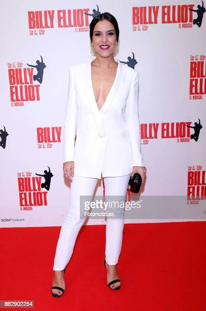 Roko attends the 'Billy ElliotEl Musical' premiere at Nuevo Alcala Theater on October 18 2017 in Madrid Spain