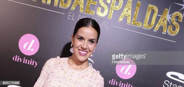 Roko attends the 'El Guardaespaldas' musical premiere at the Coliseum Theater on September 28 2017 in Madrid Spain