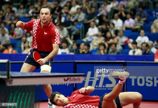 Roko TOSIC /Zoran PRIMORAC Championnats du Monde Tennis de Table Yokohama Japon