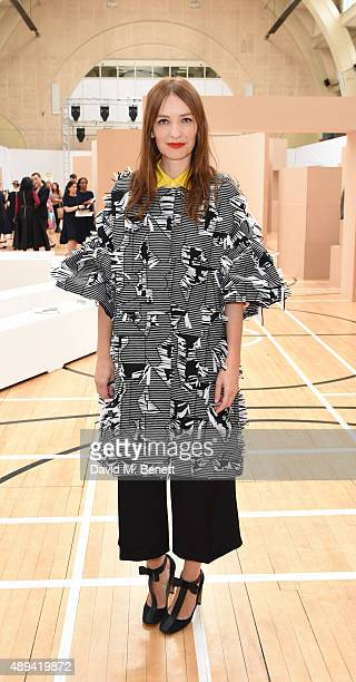 Roksanda attends the Roksanda show during London Fashion Week SS16 at Bryanston Place on September 21 2015 in London England
