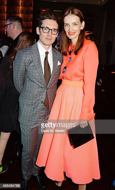 Roksanda Ilincic and Erdem Moralioglu attend The Business of Fashion celebrating the #BOF500 the people shaping the global fashion industry at The...