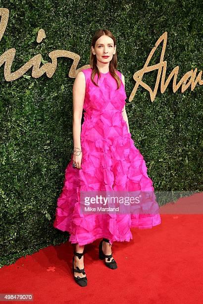 Roksanda Ilincic attends the British Fashion Awards 2015 at London Coliseum on November 23 2015 in London England