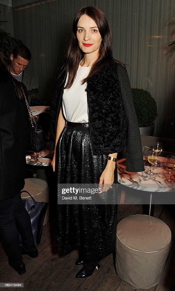 Roksanda Ilincic attends the ELLE Magazine drinks reception celebrating London Fashion Week SS14 at the Sanderson Hotel on September 12, 2013 in London, England.