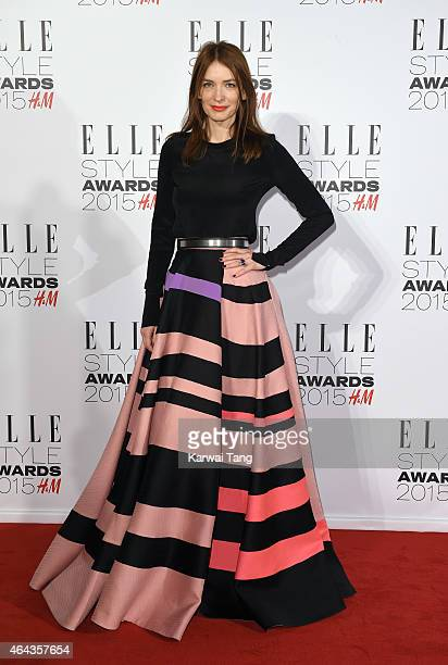Roksanda Ilincic attends the Elle Style Awards 2015 at Sky Garden @ The Walkie Talkie Tower on February 24 2015 in London UK