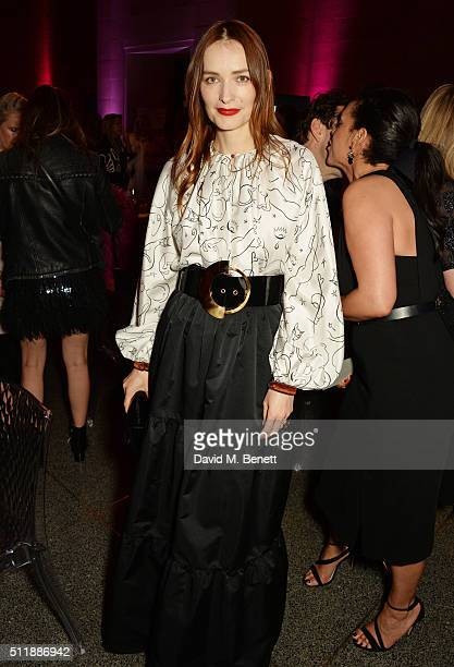 Roksanda Ilincic attends The Elle Style Awards 2016 after party on February 23 2016 in London England