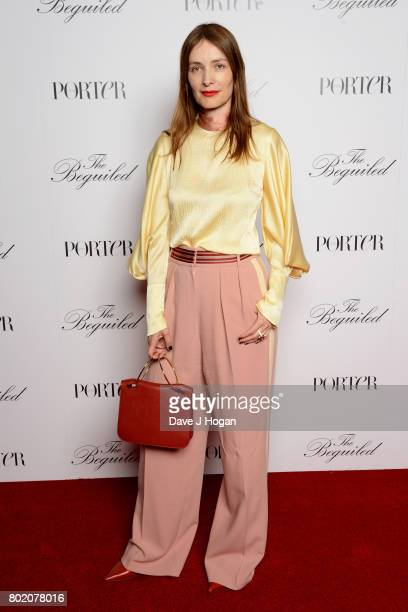 Roksanda Ilincic attends the screening of 'The Beguiled' at Picturehouse Central on June 27 2017 in London England