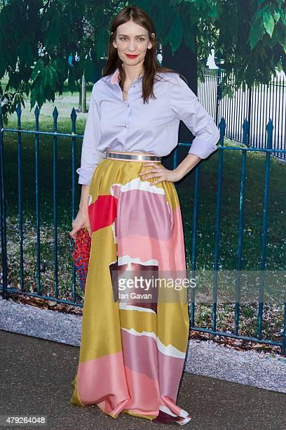 Roksanda Ilincic attends the Serpentine Gallery Summer Party at The Serpentine Gallery on July 2 2015 in London England