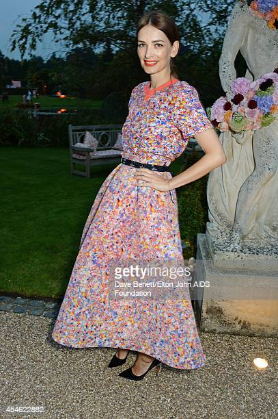 APPLIES Roksanda Ilincic attends the Woodside End of Summer party to benefit the Elton John AIDS Foundation sponsored by Chopard and Grey Goose at...