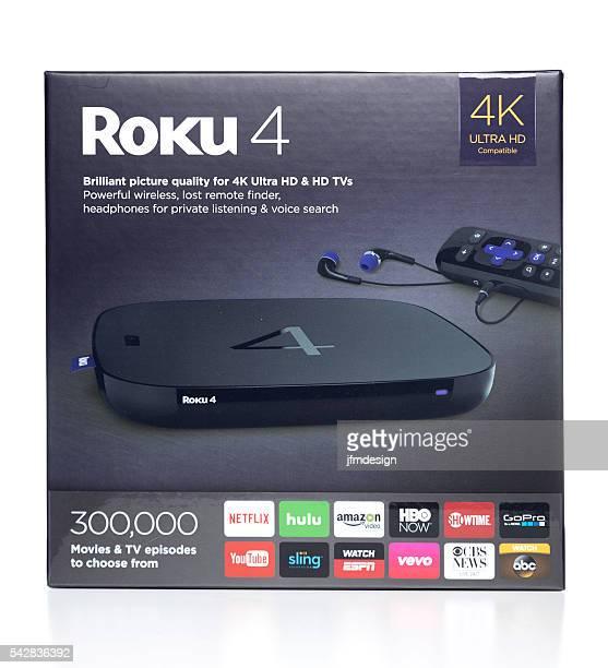 Roku 4 Ultra HD box