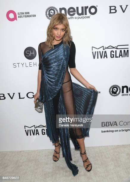 Rola attends Bulgari at the 25th Annual Elton John AIDS Foundation's Academy Awards Viewing Party at on February 26 2017 in Los Angeles California
