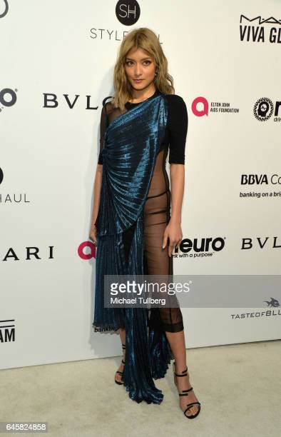 Rola attends the 25th Annual Elton John AIDS Foundation's Academy Awards Viewing Party at The City of West Hollywood Park on February 26 2017 in West...