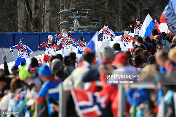 Roland Clara of Italy Martin Johnsrud Sundby of Norway Daniel Richardsson of Sweden Matti Heikkinen of Finland Robin Duvillard of France Alex Harvey...