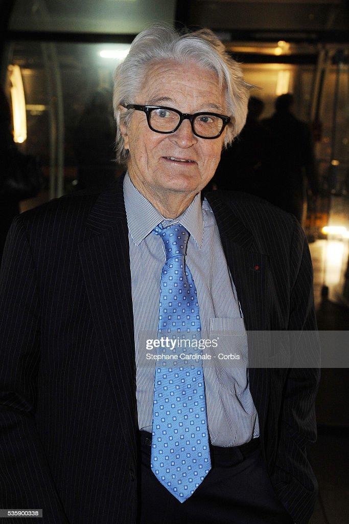 Roland Dumas attends France Soir Launch Party in Paris.