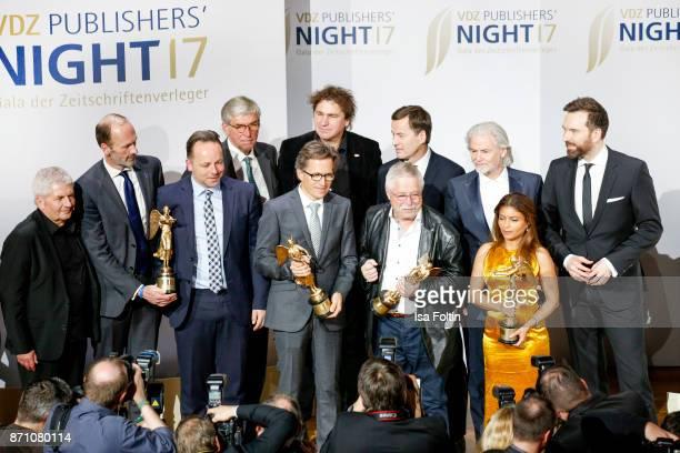 Roland Jahn Alexander Freiherr Knigge award winner Daniel Roeder Rudolf Thiemann award winner Markus Mosa IlkoSascha Kowalczuk Stephan Scherzer award...