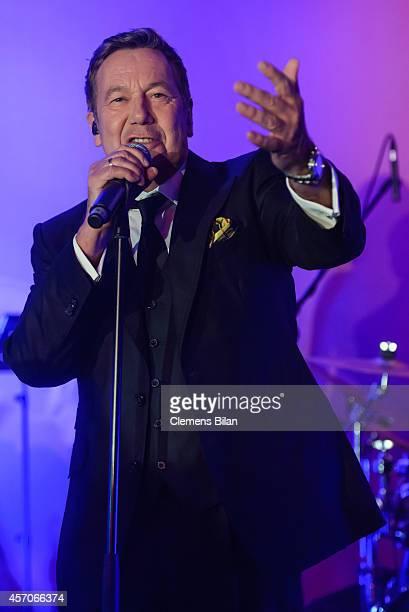Roland Kaiser performs at the TULIP Gala 2014 at Van der Valk Hotel Berlin Brandenburg on October 11 2014 in BlankenfeldeMahlow near Berlin Germany