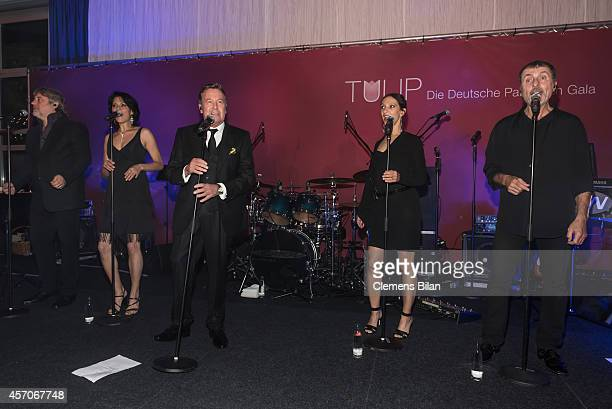Roland Kaiser performs at the TULIP Gala 2014 at Van der Valk Hotel Berlin Brandenburg on October 11 2014 in BlankenfeldeMahlow near Berlin Germany